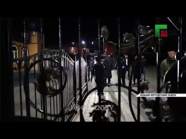 Глава ЧР Рамзан Кадыров и Муфтий ЧР Салах-Хаджи Межиев в ночь Бараат посетил зиярты республики