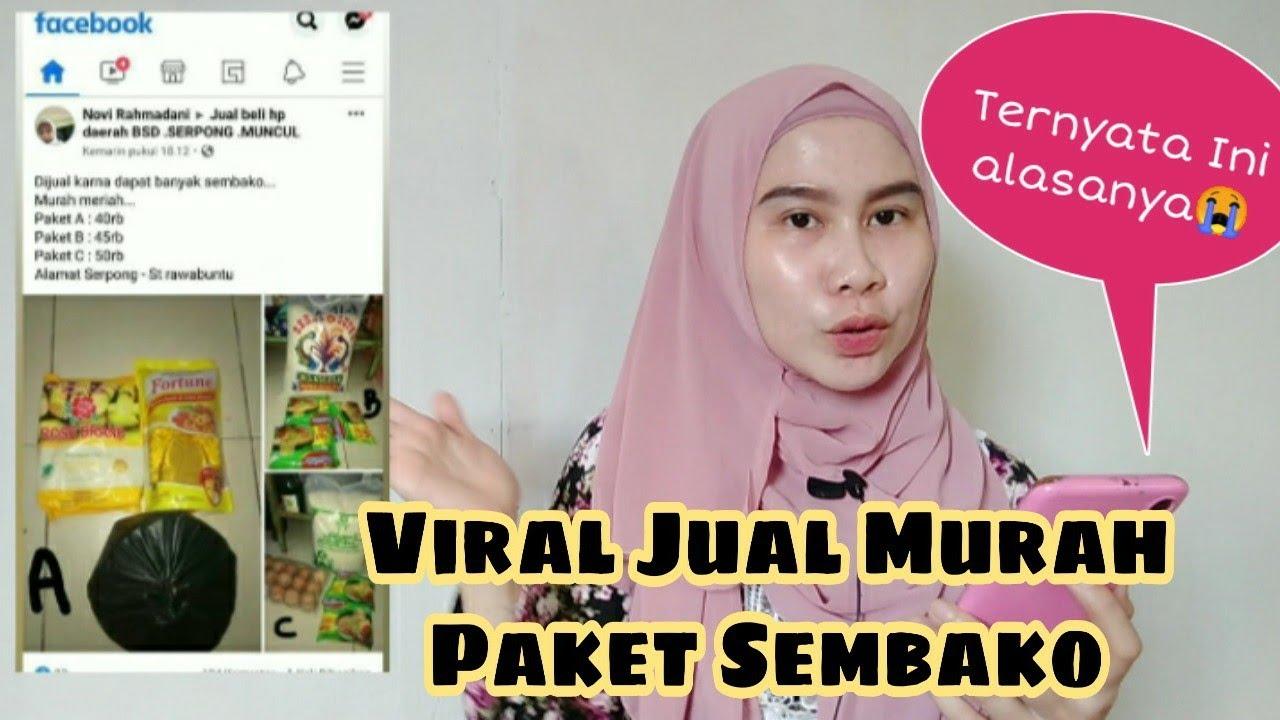 Viral Jual Murah Paket Sembako || Ternyata Ini Alasannya😭