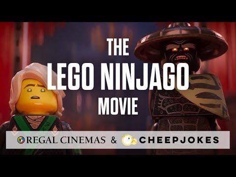 LEGO NINJAGO: Ninjas come to life at REGAL with Cheep Jokes! - Regal Cinemas