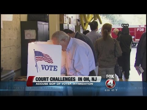 Voters Being Intimidated at Polls?