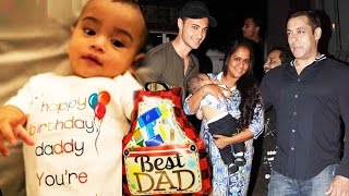 Salman's Nephew AHIL's Best Gift To Dad Aayush Sharma