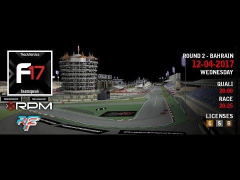 XtremeRPM Formula 2017 - Round 2 - Bahrain - rFactor 2 - LIVE!
