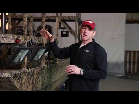 2017 Lowe Archer Bow Fishing Boat Walk Around