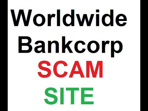 Worldwide-bankcorp Scam Site ! With Proof ! Don't Invest