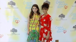 "Rowan Blanchard and Storm Reid ""CMH Empathy Rocks 2017"""