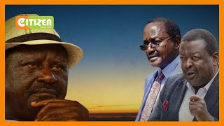 Kalonzo and Mudavadi hit out at Raila over comments on endorsement