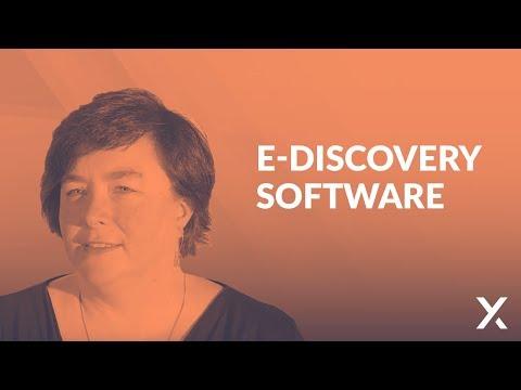 Basic Of E-Discovery: E-Discovery Software