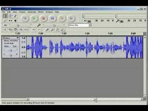 Introduction to Goldwave Audio Editor - Part 1 | Doovi
