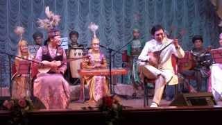Домбыра. Вы должны это увидеть! Нуркен Аширов. Kazakh national instrument dombrа