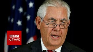 Tillerson: North Korean leader didn't understand diplomatic language - BBC News