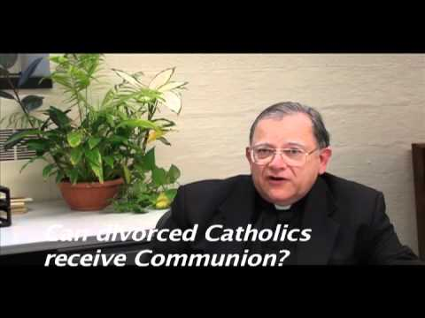 Can a divorced person receive communion
