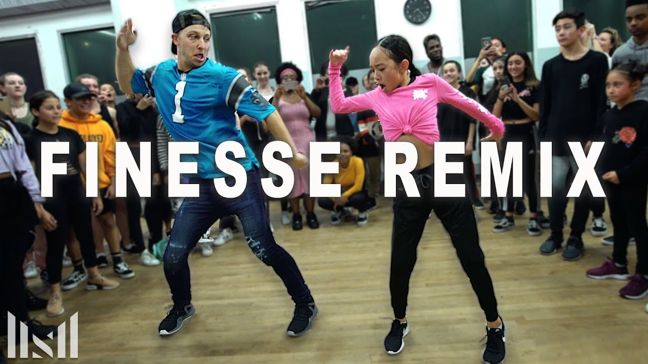 FINESSE (Remix) - Bruno Mars ft Cardi B Dance | Matt Steffanina image