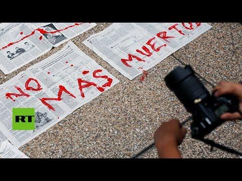 La impunidad rodea a los crímenes contra periodistas en México