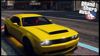 GTA 5 ROLEPLAY - HIGH SPEED UBER CHASE IN DODGE DEMON - EP. 967 - AFG -  CIV
