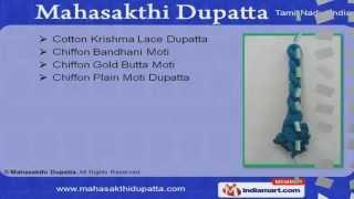 Cotton Dupattas by Mahasakthi Dupatta, Chennai