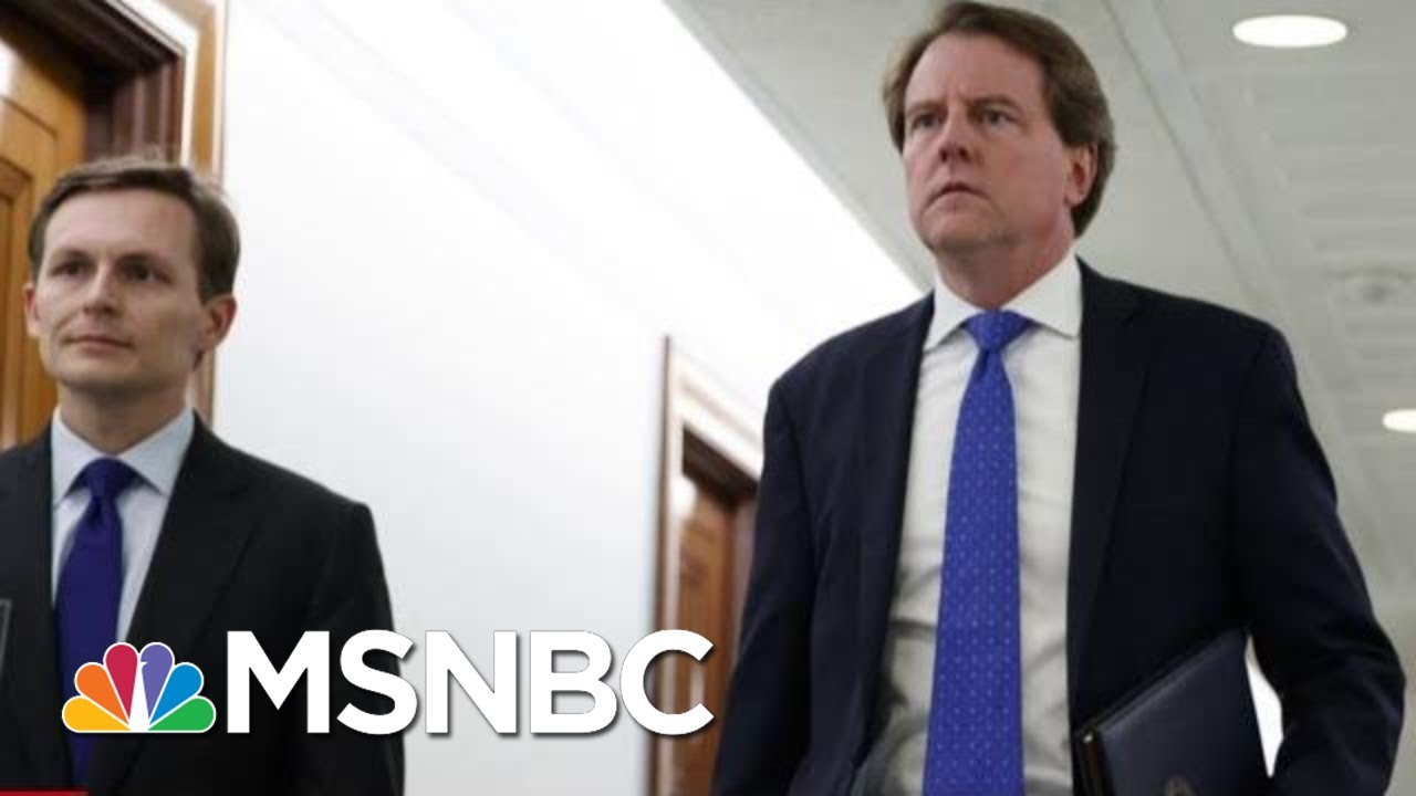 Donald McGahn Must Testify to Congress, Judge Rules ...