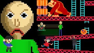 Baldi would be OP in Donkey Kong