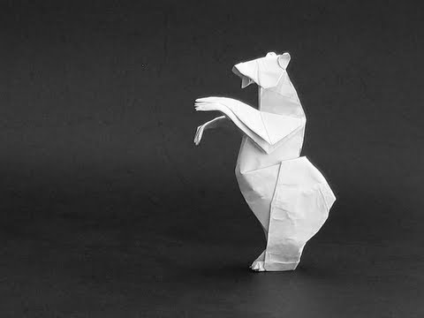 Origami Instructions Grizzly Bear Quentin Trollip Youtube