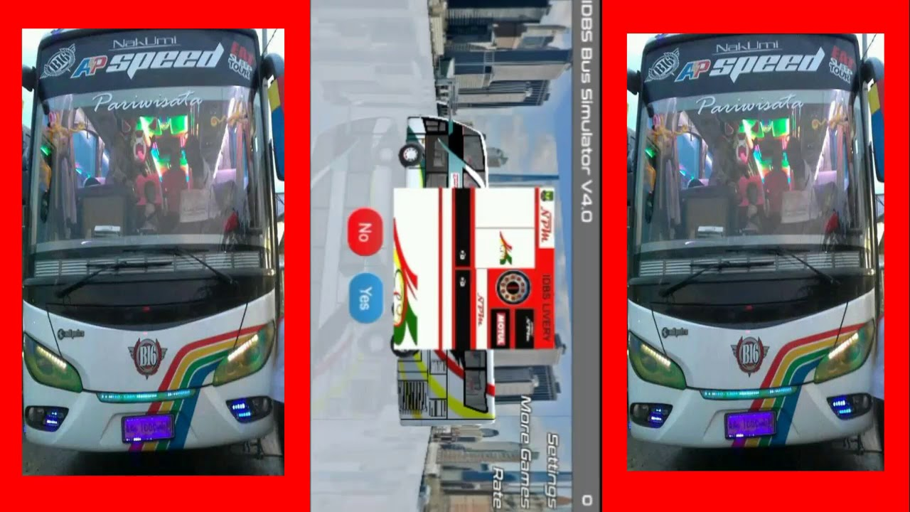 Livery Idbs Bus Simulator V4 0 Link Youtube
