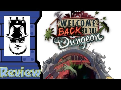 骰子人桌遊-(特價)歡迎回到地下城Welcome Back to the Dungeon(繁)打怪.英雄