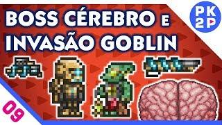 Terraria Cérebros Novo Goblin e Armadura TechDrive Spirit