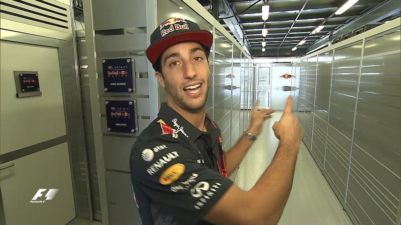 Daniel Ricciardo Behind Closed Doors