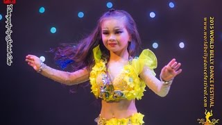 2015 World Belly Dance Festival - Children Solo Category, 2nd Runner-up, Ma Xuan Ying thumbnail