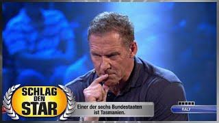 Spiel 3 - Länderkunde - Faisal Kawusi vs. Ralf Möller | Schlag den Star