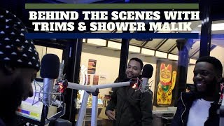 90s Baby TV | Behind The Scenes With Trims & Shower Malik