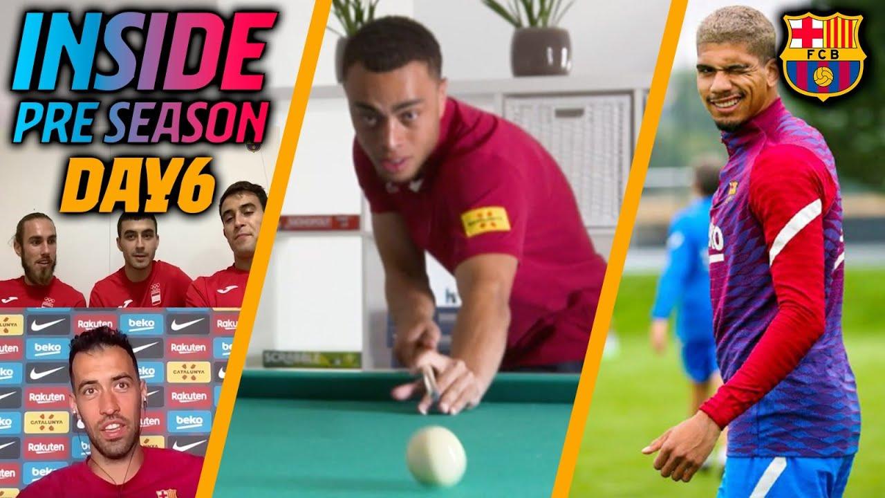⚽📲 DOUBLE SESSION, BUSQUETS CALLS PEDRI, ERIC GARCÍA & MINGUEZA... | INSIDE PRE-SEASON (Day 6)