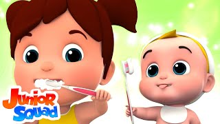 This Is The Way | Nursery Rhymes Songs For Kids | Children Rhyme By Junior Squad