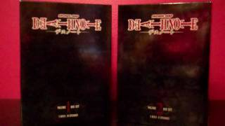Death Note box set DVD review