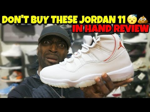 Don't Buy Jordan 11 Platinum Tint!! It's Not Worth $220!! In Hand Review