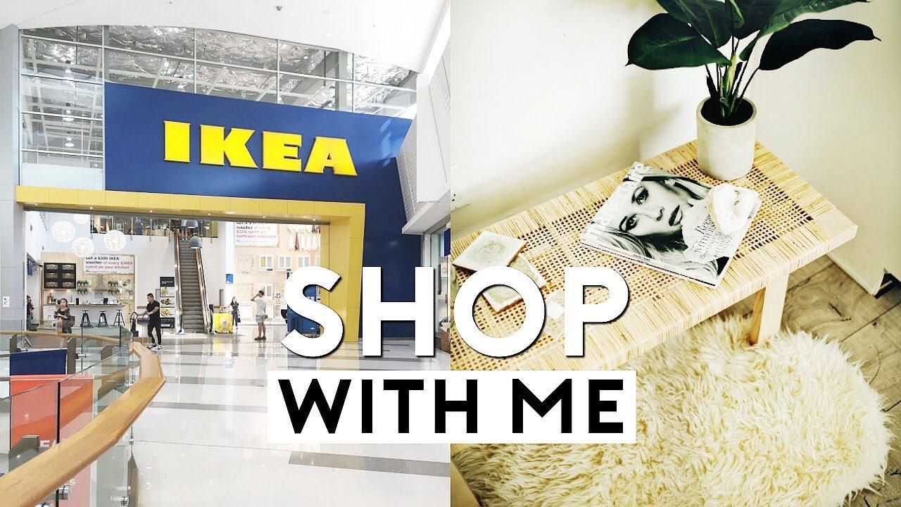 Ikea Shop With Me Haul Whats New 2018 Nastazsa Youtube