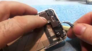 iRepair® Apple iPhone 4S 64GB Reparatur Tausch des LCD-Display Wechsel (zerlegen)(In diesem Video wird von http://www.iRepair-Online.de gezeigt, wie man das LCD-Display -Touc Digitizer- eines Apple iPhone 4S wechselt, tauscht. Dabei wird ..., 2012-02-21T01:48:20.000Z)
