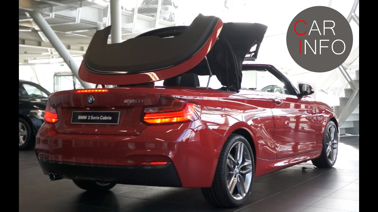 bmw 220i convertible 2015 touch and feel review youtube. Black Bedroom Furniture Sets. Home Design Ideas