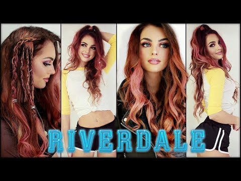 Toni Topaz Pink HAIRSTYLES & Coming Out | the cw RIVERDALE Tutorial