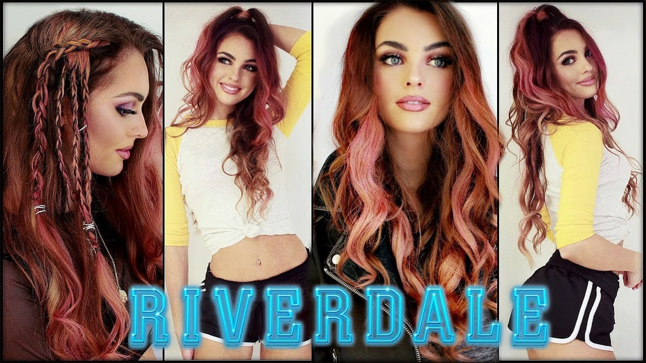 Toni Topaz Pink Hairstyles Coming Out The Cw Riverdale Tutorial