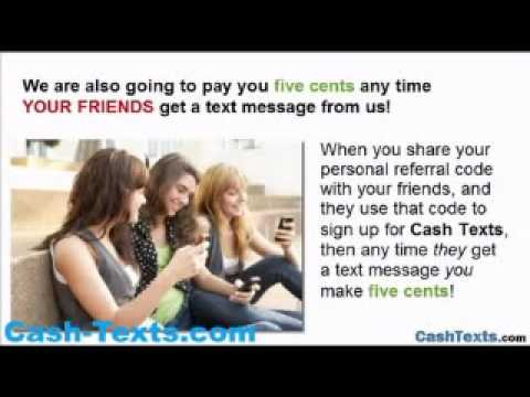 Get Paid Fast Cash For Receiving Text Messages!
