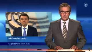 SKANDAL! Unveröffentlichte Tagesschau - wahres Wahlergebnis 2013