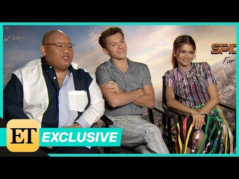Spider-Man: Far From Home: Zendaya, Tom Holland and Jacob Batalon (Full Interview)