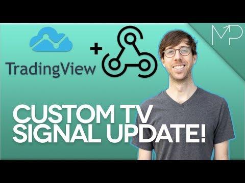 Use Webhooks with TradingView Custom Signals!