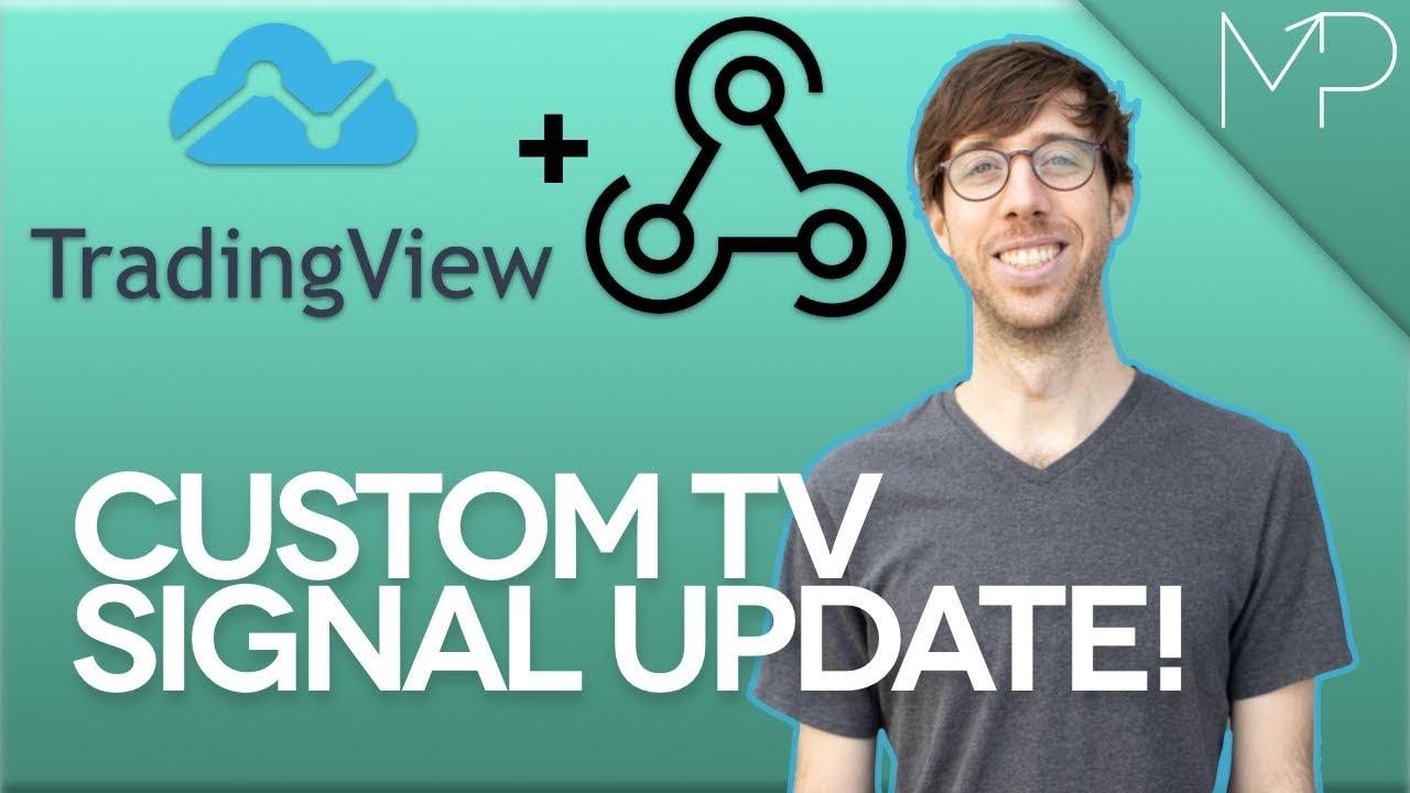 Use Webhooks With Tradingview Custom Signals Youtube