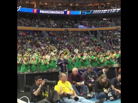 Notre Dame Fight Song 2017 NCAA Tournament