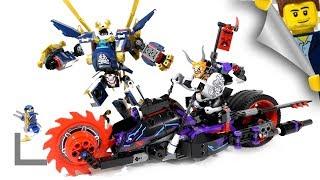 конструктор Lego Killow vs. Samurai X 70642 обзор
