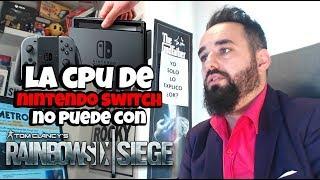 Ubisoft Confirma que Rainbow Six Siege NO saldrá en Nintendo Switch porque su CPU NO PUEDE MOVERLO