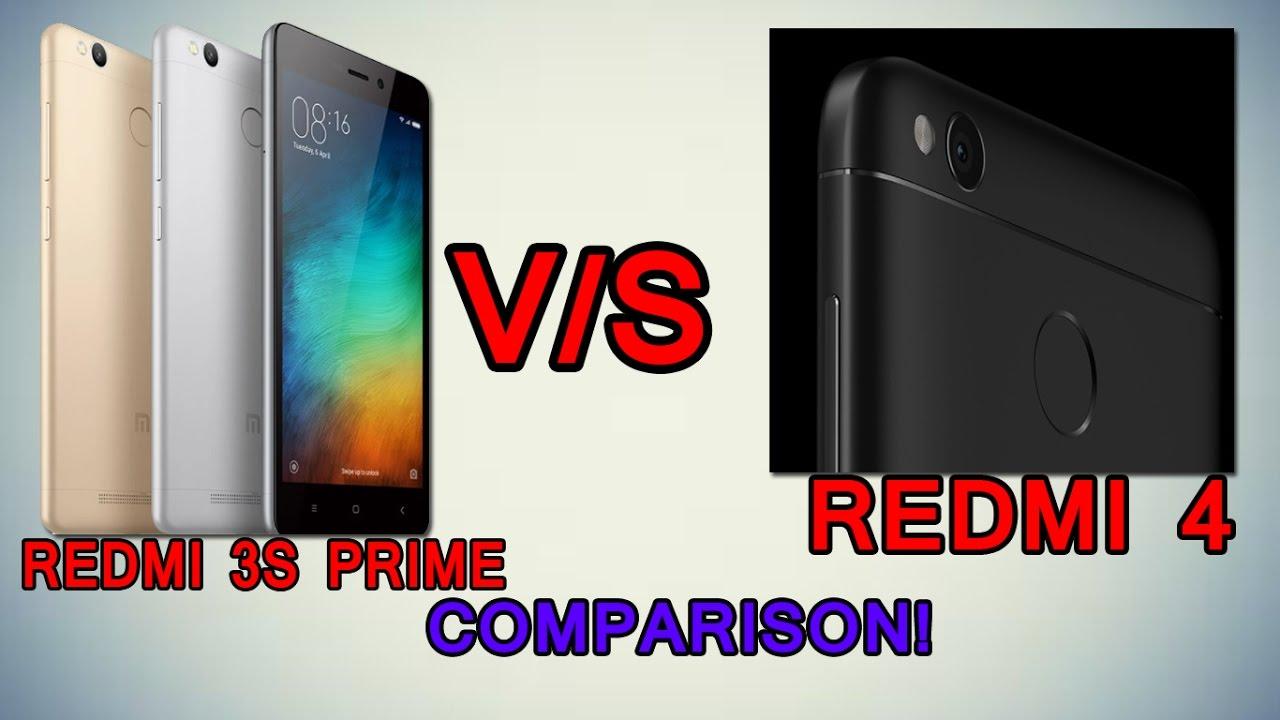 REDMI 4 vs REDMI 3S PRIME 3GB 32GB   HINDI COMPARISON