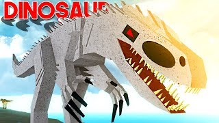 "Dinosaur Simulator-The great Indominus Rex, hunting dinosaurs! | ""Roblox"" (#58) (EN-BR)"