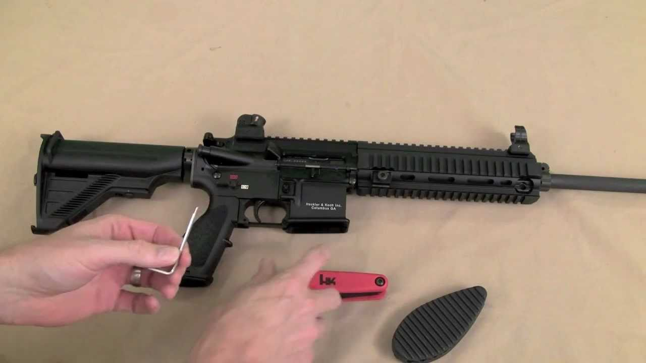 Disassembly of the HK MR556A1
