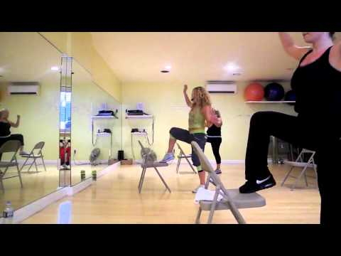 Zumba Sentao classes demo with Luba from Challenge Fitness Brooklyn
